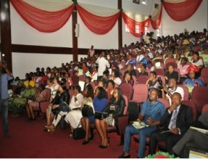 Opening Ceremony Audience & High Table