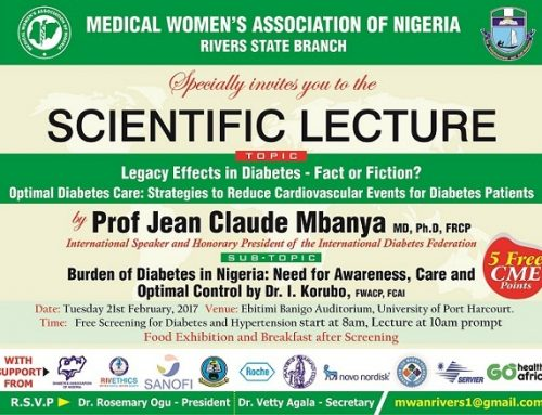 Scientific Lecture on Diabetes