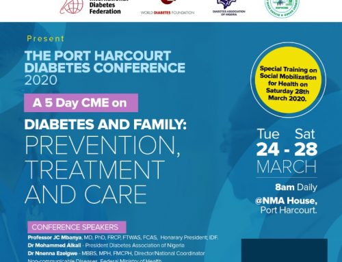 The MWAN Rivers Diabetes Conference Port Harcourt 2020 Sponsorship